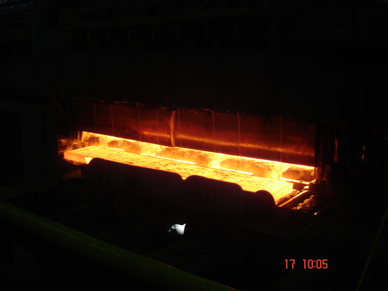 Creation and research of through-type heating furnaces  for blooms, slabs and workblanks  heating before rolling treatment  at  ferrous metallurgy plants.
