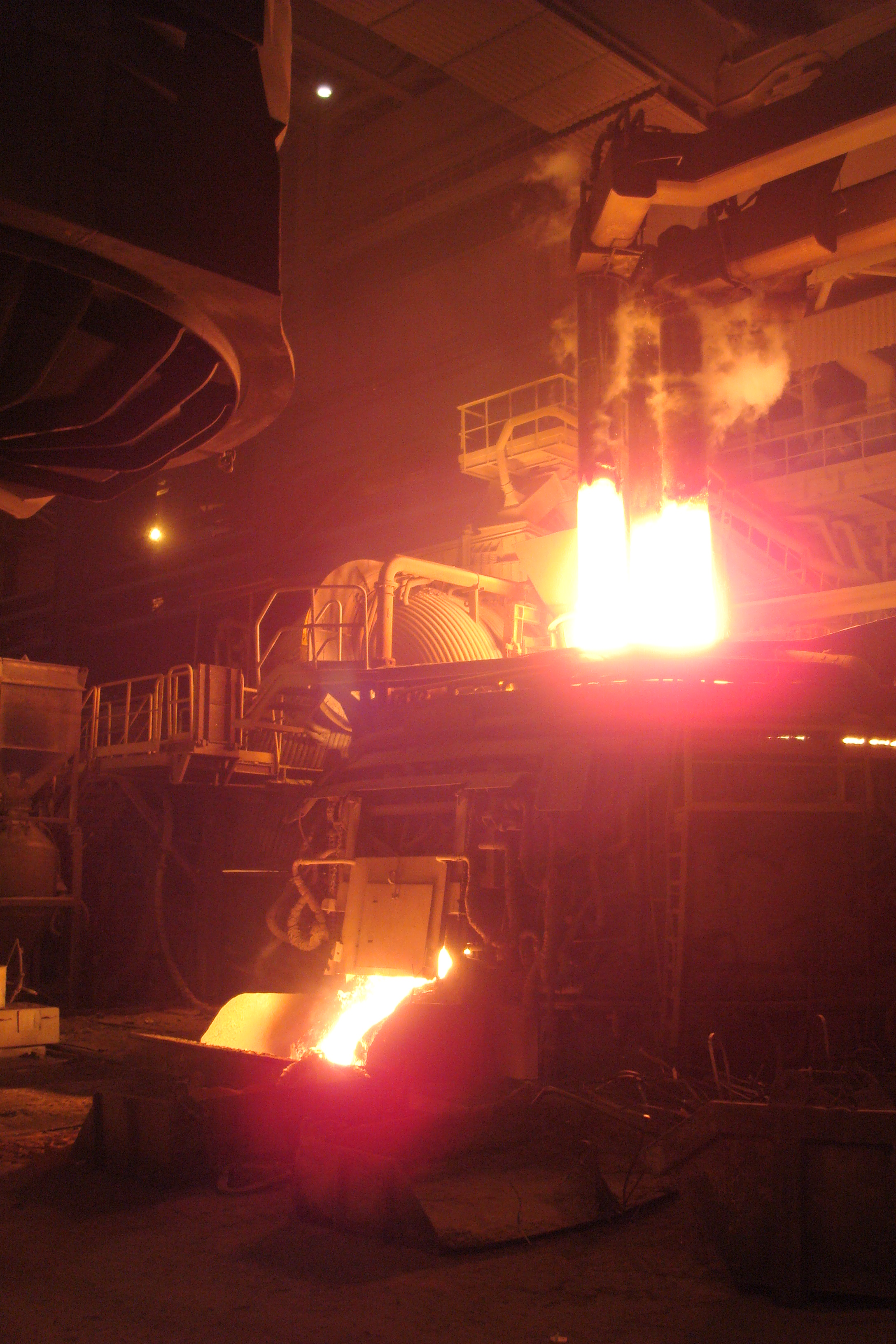 "Hazard assessment of metallurgical production (for example, casting-rolling complex LLC ""OMK-Steel"" in Viksa)."